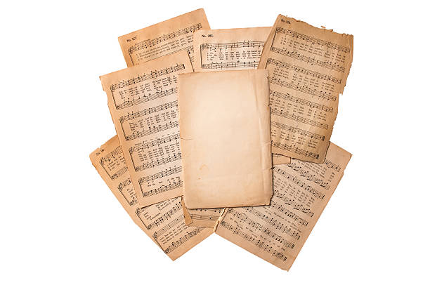 Best Choral Sheet Music Stock Photos, Pictures & Royalty-Free Images