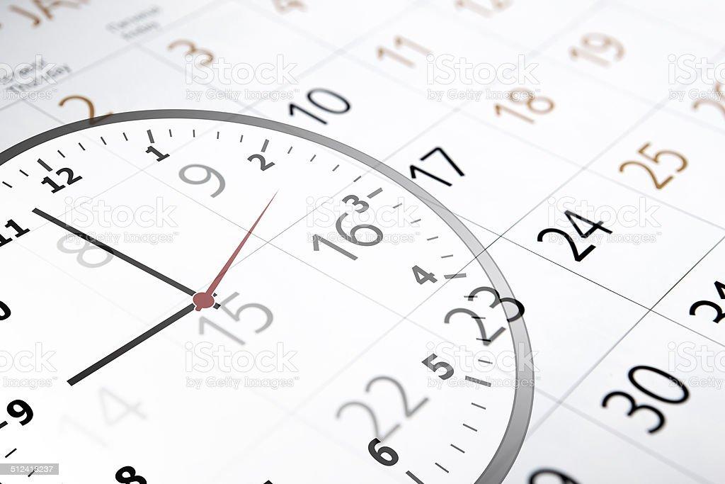 Calendario Con Numero Giorni.Fogli Di Calendario Con Il Numero Di Giorni E Ore