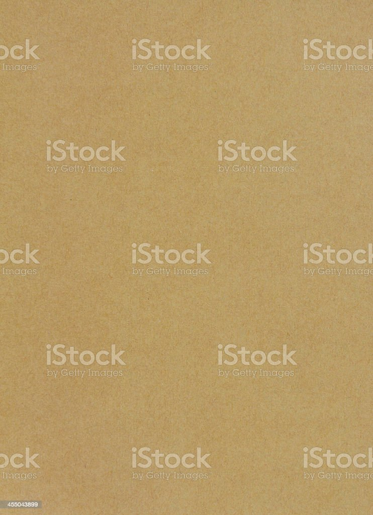 Sheet of brown paper background stock photo