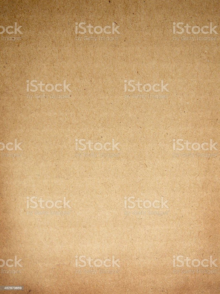Sheet of brown paper useful as a background royalty-free stock photo
