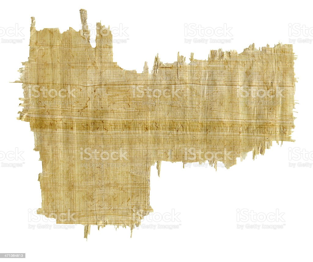 Sheet Of Papyrus -XXXL stock photo