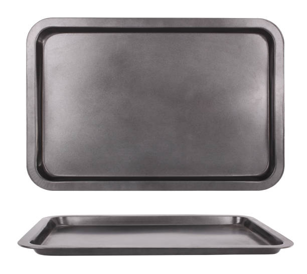Sheet pan baking tray for oven - foto de stock