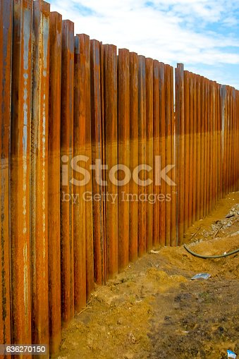 Sheet Pile Wall For Steel Retaining Wall Steel Sheet Pile