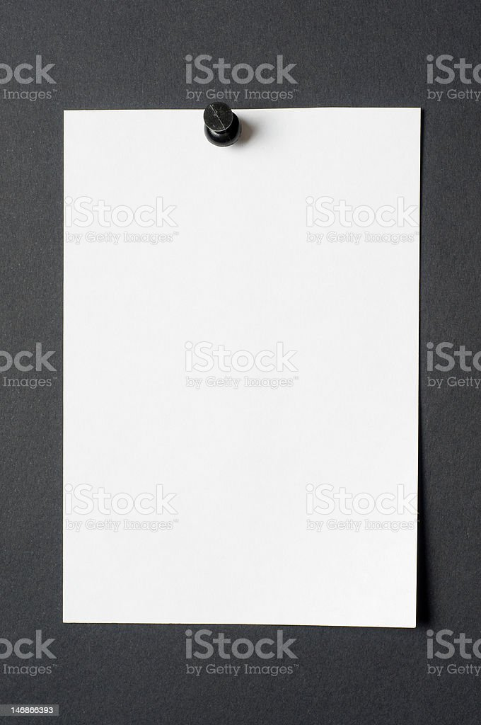 Sheet Scrap royalty-free stock photo