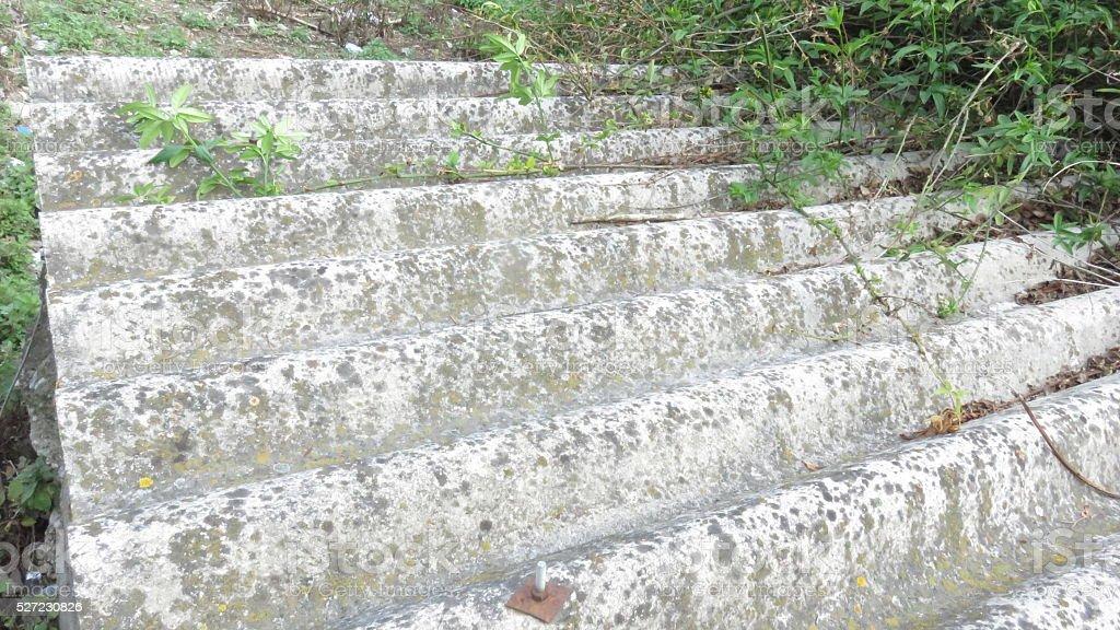 Folhas de amianto na cidade de cimento - foto de acervo