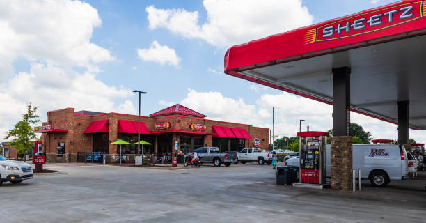 Sheetz Gas Station stock photo