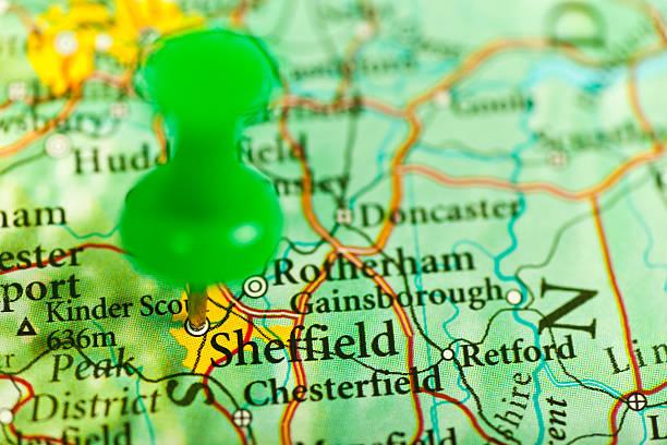 sheffield, in inghilterra - yorkshire meridionale foto e immagini stock