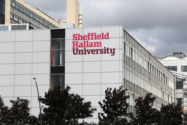 sheffield hallam universität - sheffield stock-fotos und bilder