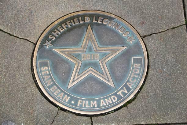 sheffield legends - yorkshire meridionale foto e immagini stock
