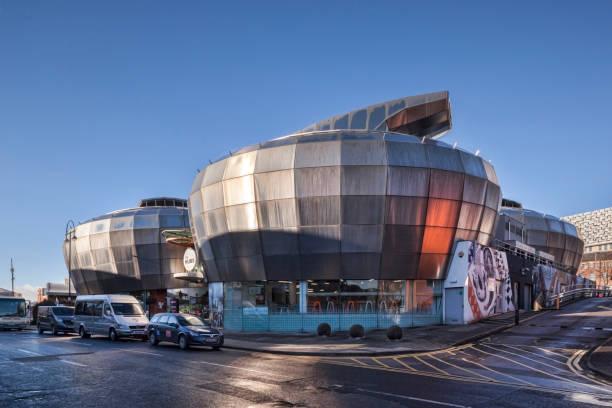 Sheffield, UK, Hallam University Student Union Building stock photo