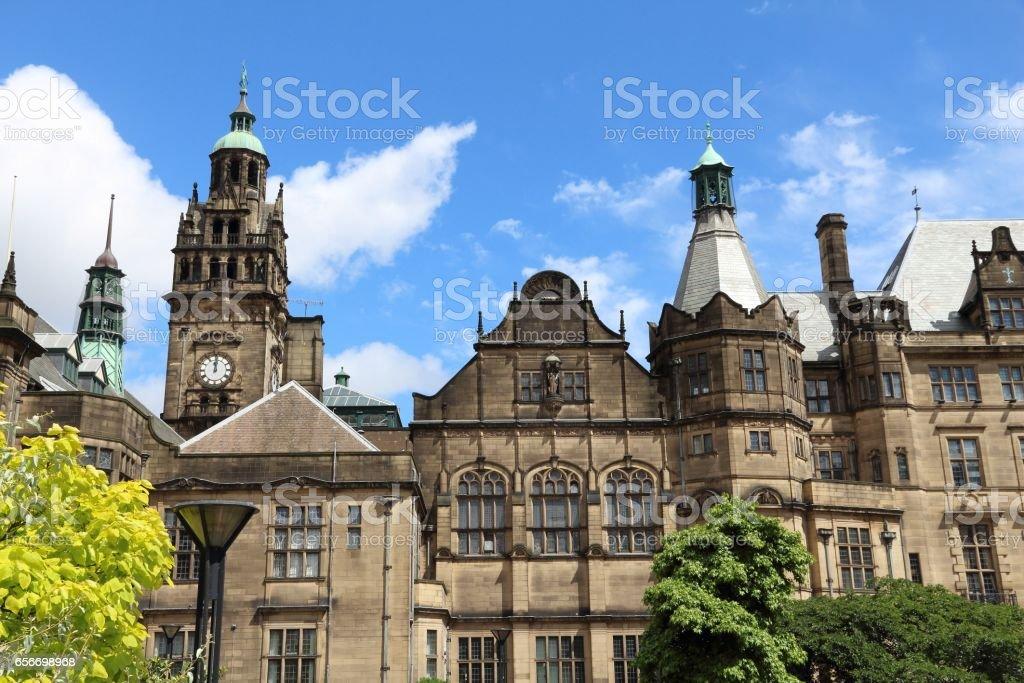 Sheffield UK stock photo