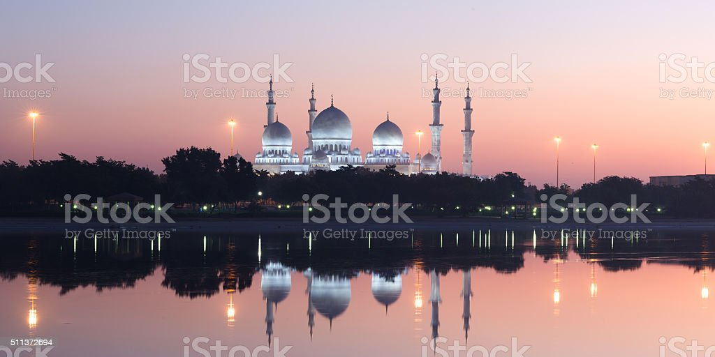 Sheikh Zayed Grand Mosque, Abu Dhabi, UAE​​​ foto