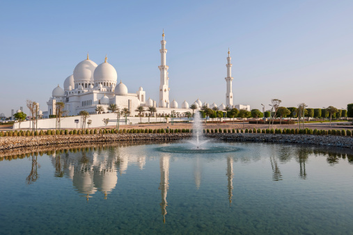 istock Sheikh Zayed Grand Mosque in Abu Dhabi 153431166