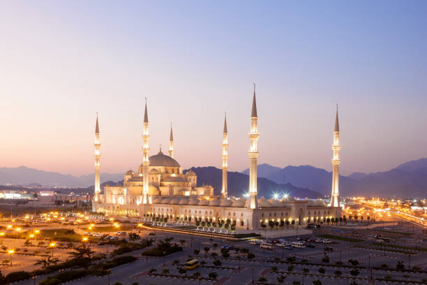 Sheikh Zayed Grand Mosque in Fujairah, UAE – Foto
