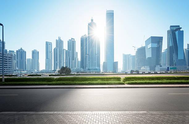 Scheich Zayed road – Vereinigte Arabische Emirate – Foto