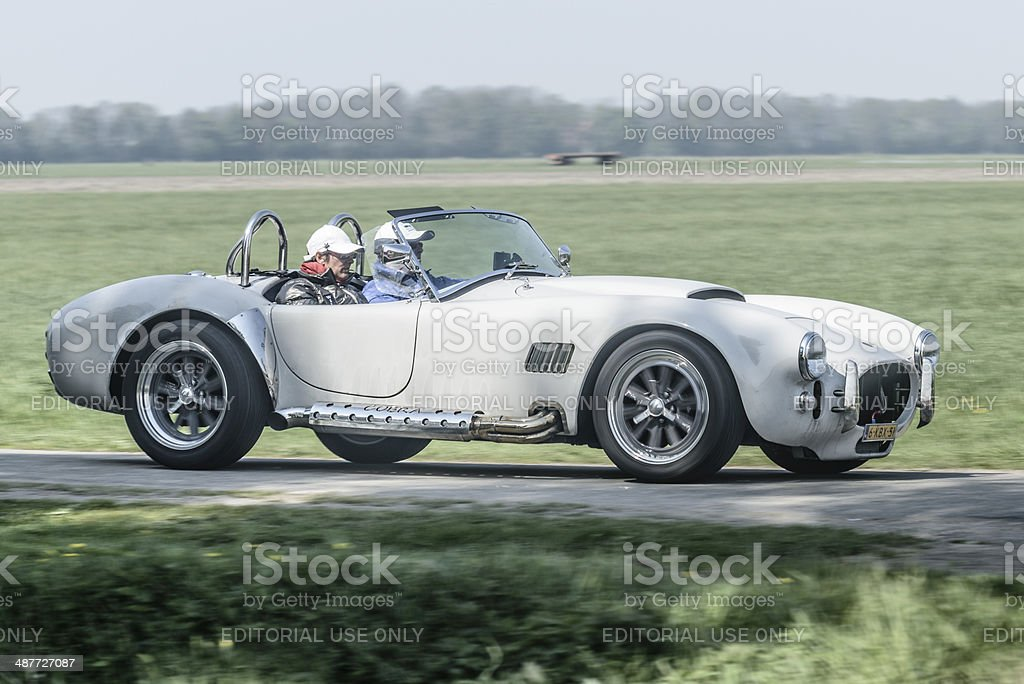 Shelby Cobra stock photo
