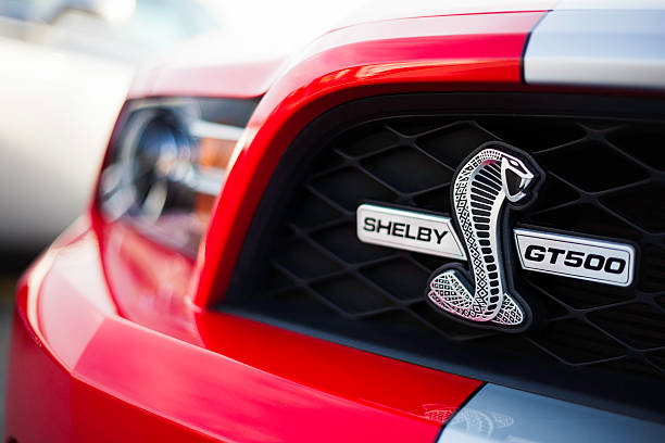 Shelby GT500 Front Badging stock photo