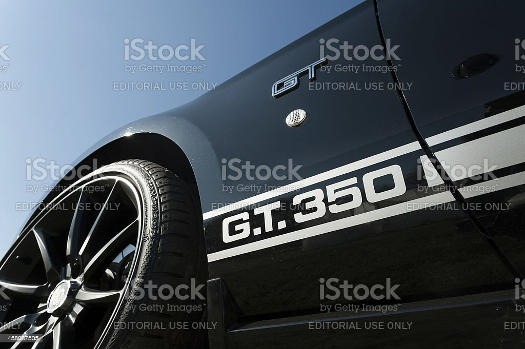 Shelby Mustang GT 350 stock photo