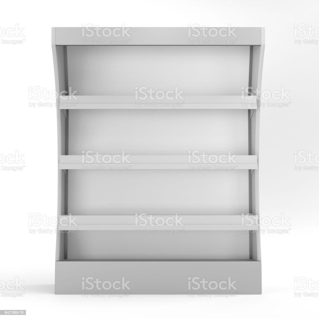maqueta de exhibición del estante - foto de stock
