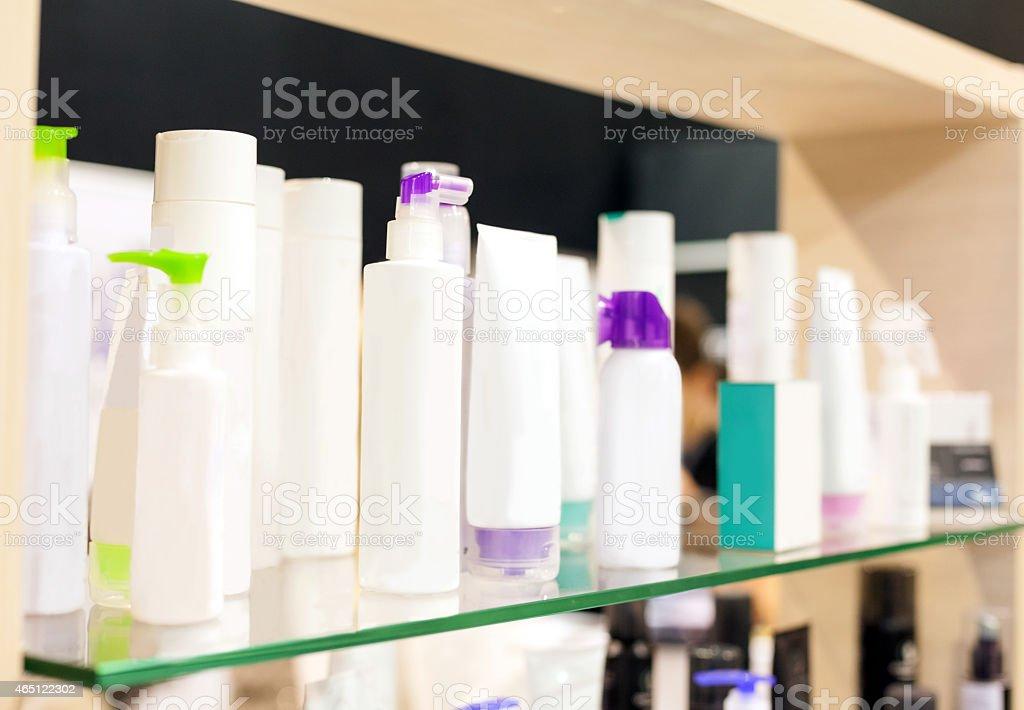 Garrafas de cosméticos - foto de acervo