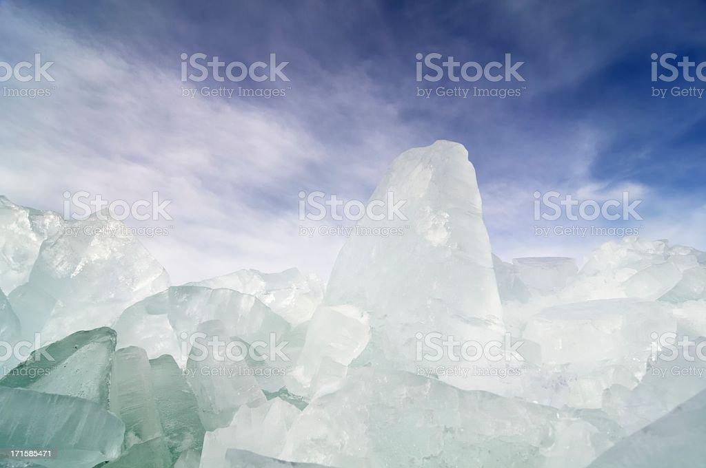Shelf ice royalty-free stock photo