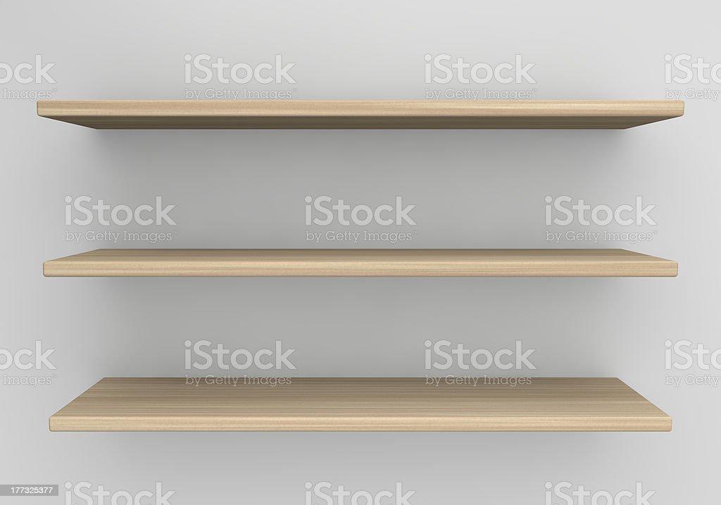 Shelf royalty-free stock photo