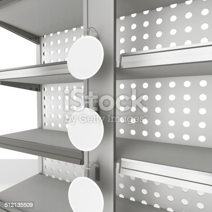 istock shelf with three wobblers 512135509