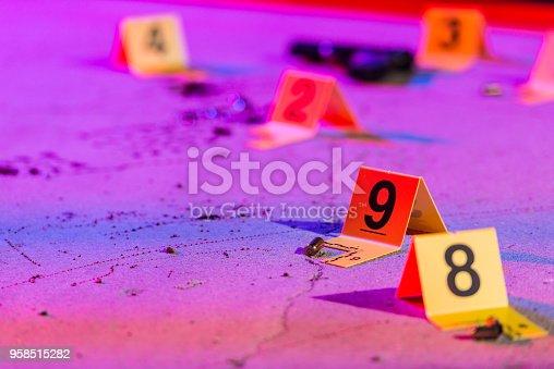 istock Shell Casing Evidence 958515282