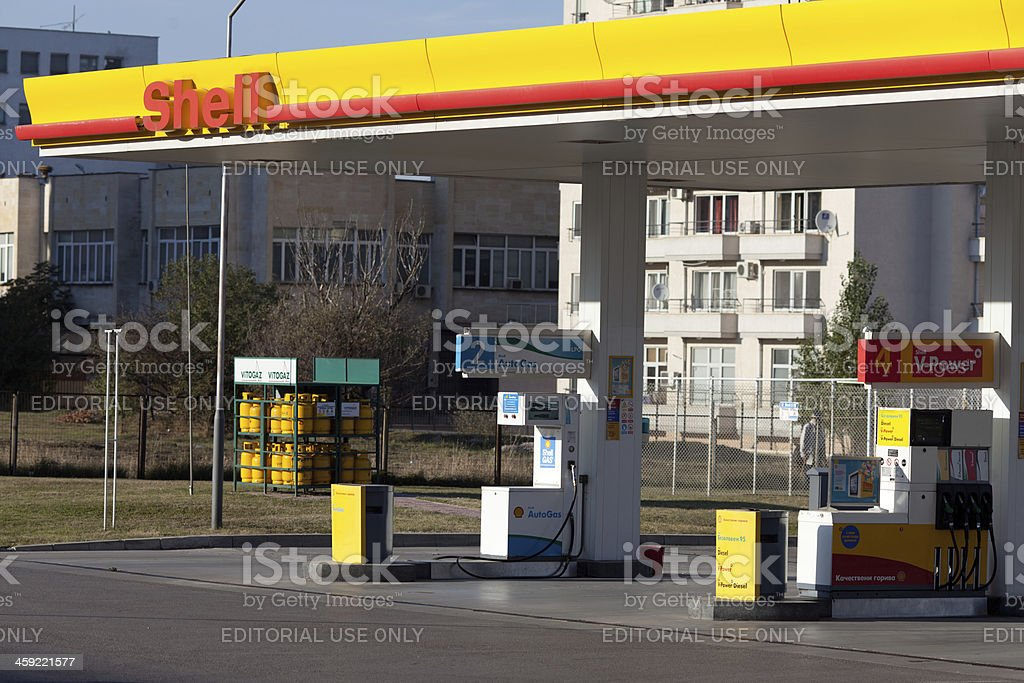 Shell-Tankstelle – Foto
