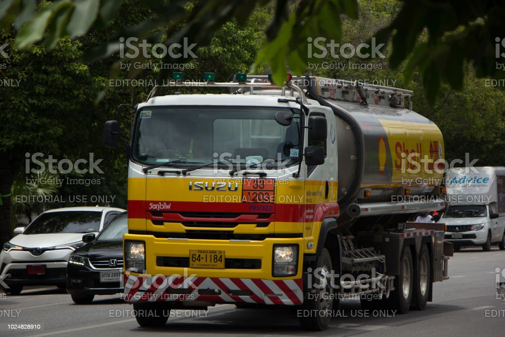 Shell Oil Truck of Pong RaVee Oil transport Company. Photo at...