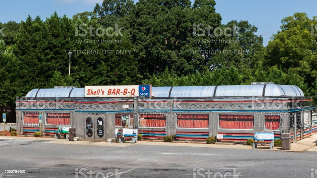 Shell's Bar-B-Q - foto de stock