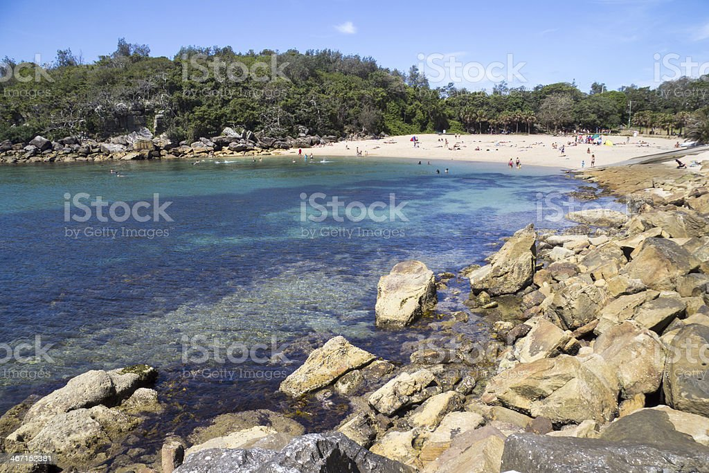 Shelly Beach stock photo