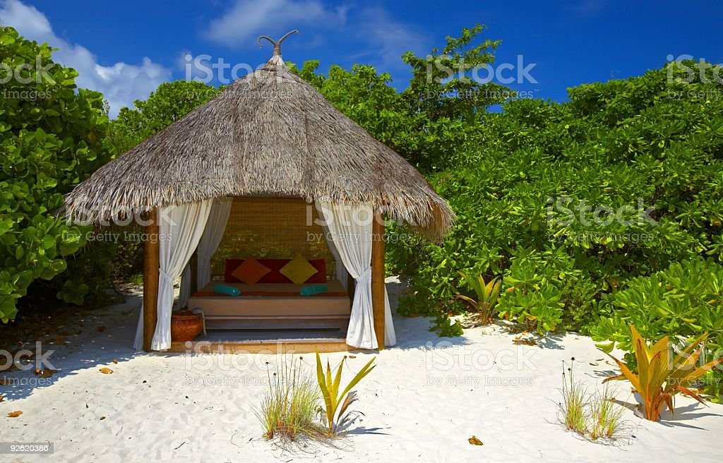shelter for a couple in love royalty-free stock photo