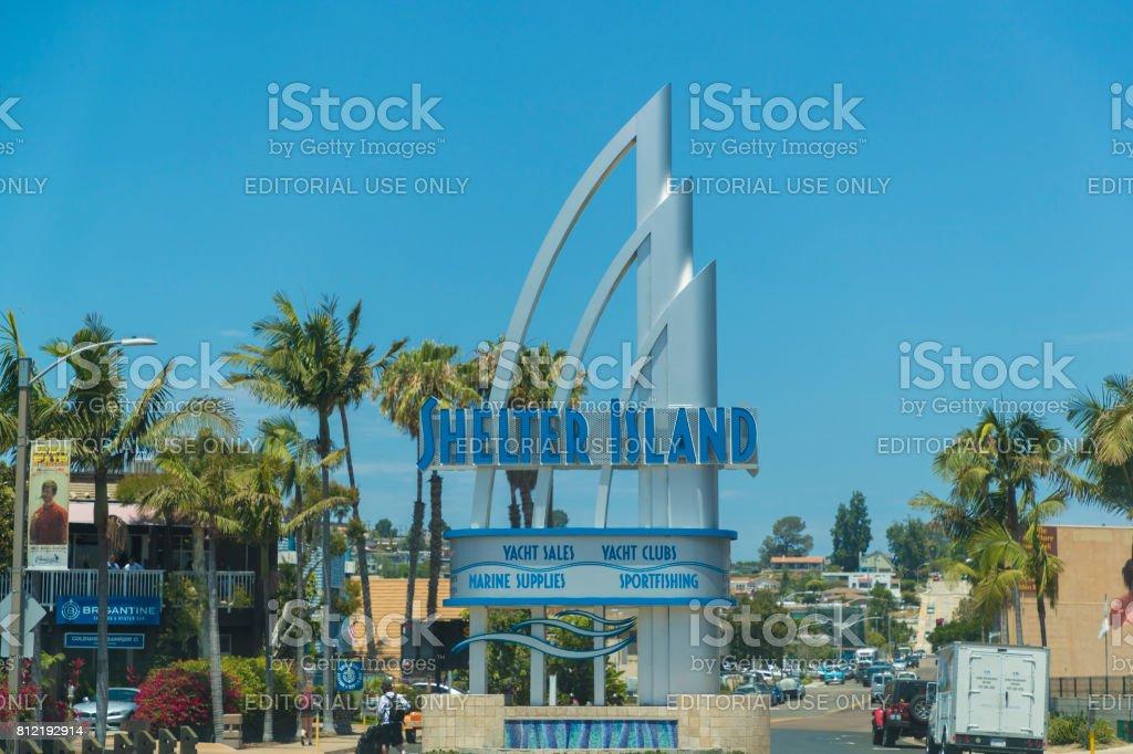 Shelter Island - San Diego stock photo