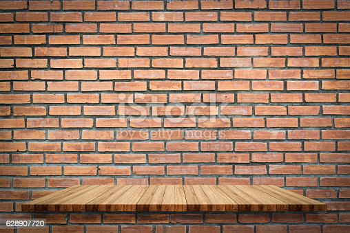 642100994 istock photo shelves on old concrete wall 628907720