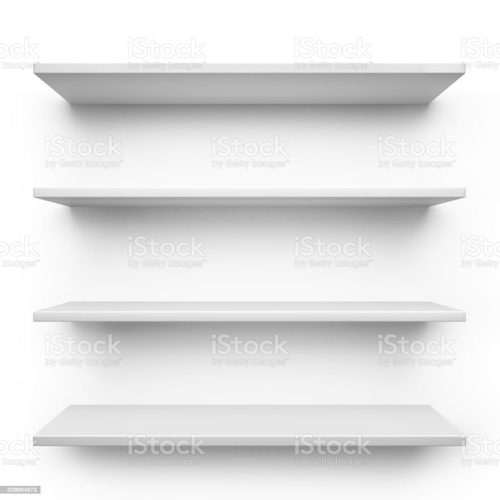 Shelves stock photo