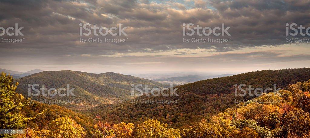 Shenandoah At Dawn stock photo