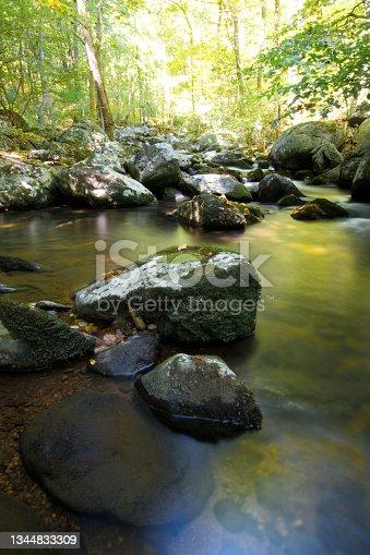 istock Shenandoah National Park - Hazel River Trail 1344833309
