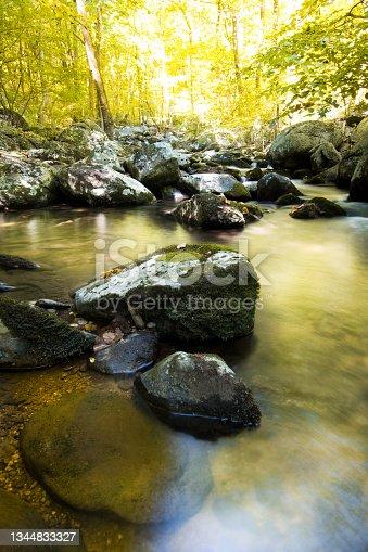 istock Shenandoah National Park - Hazel River Trail 1344833327