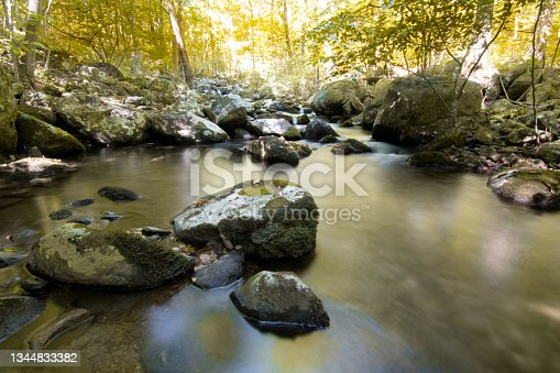 istock Shenandoah National Park - Hazel River Trail 1344833382