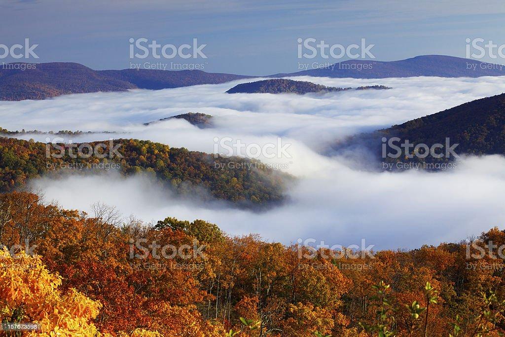 Shenandoah National Park royalty-free stock photo