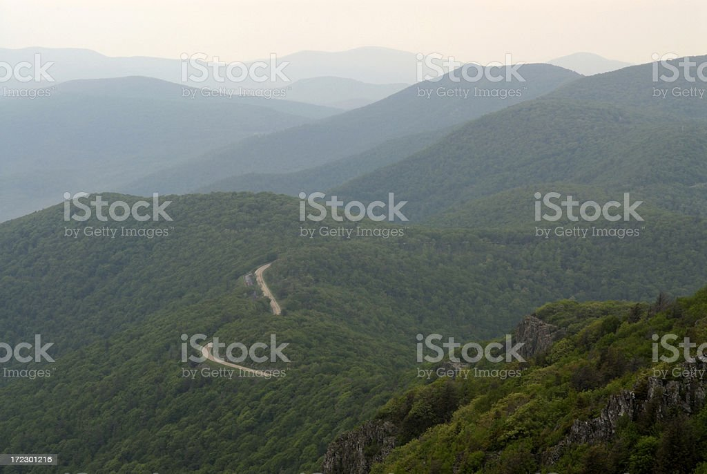 Shenandoah National Park royalty-free stock photo