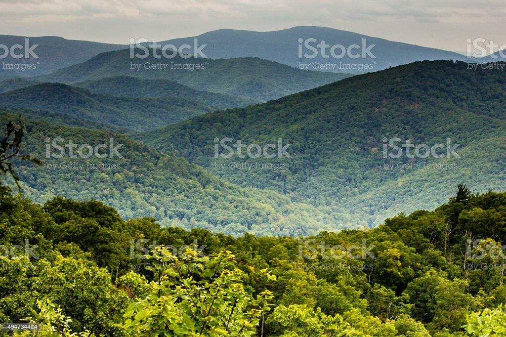 Shenandoah National Park, Virginia stock photo