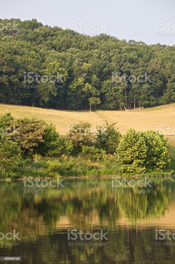 Shenandoah River stock photo