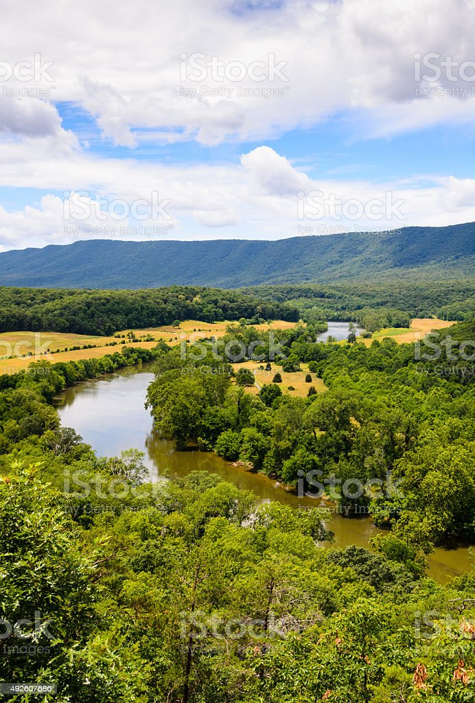 Shenandoah River State Park stock photo