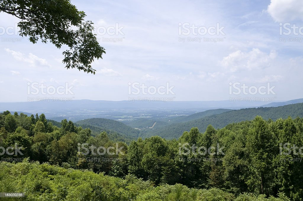 Shenandoah Valley royalty-free stock photo