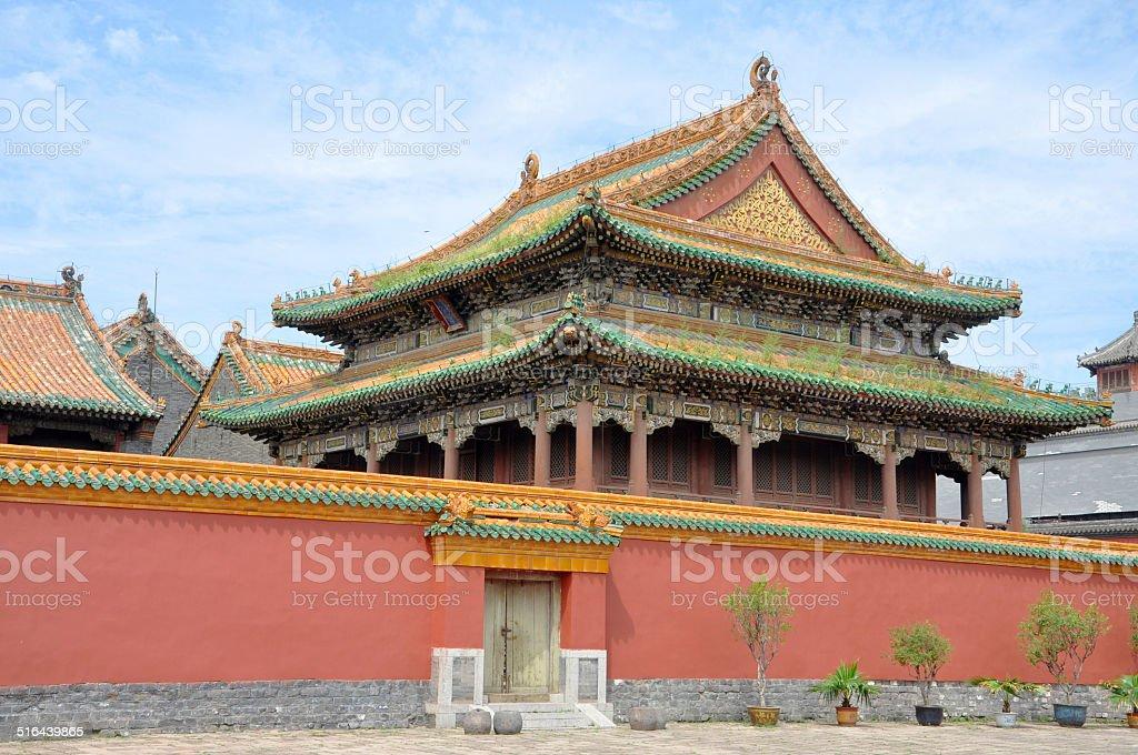 Shenyang Imperial Palace, China stock photo