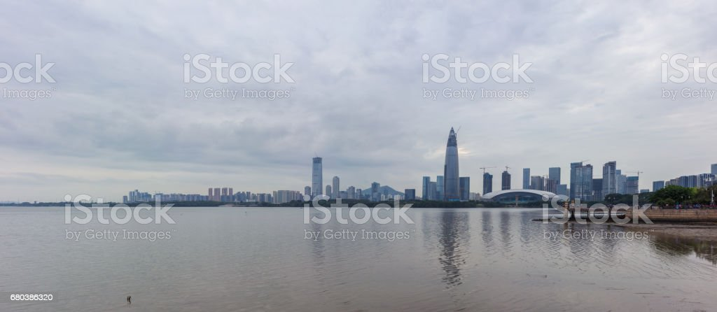 Shenzhen Bay, Houhai Bay royalty-free stock photo