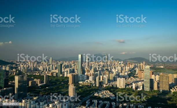 Shenzhen Panoramę Miasta - zdjęcia stockowe i więcej obrazów Azja