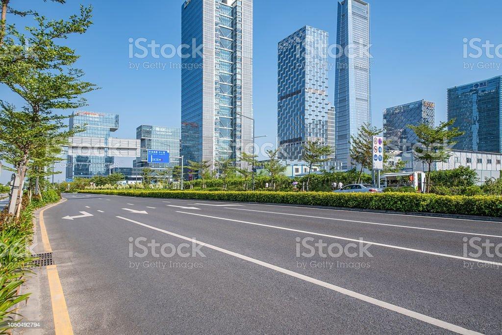 Shenzhen Nanshan District Houhai Cbd Complex And Empty
